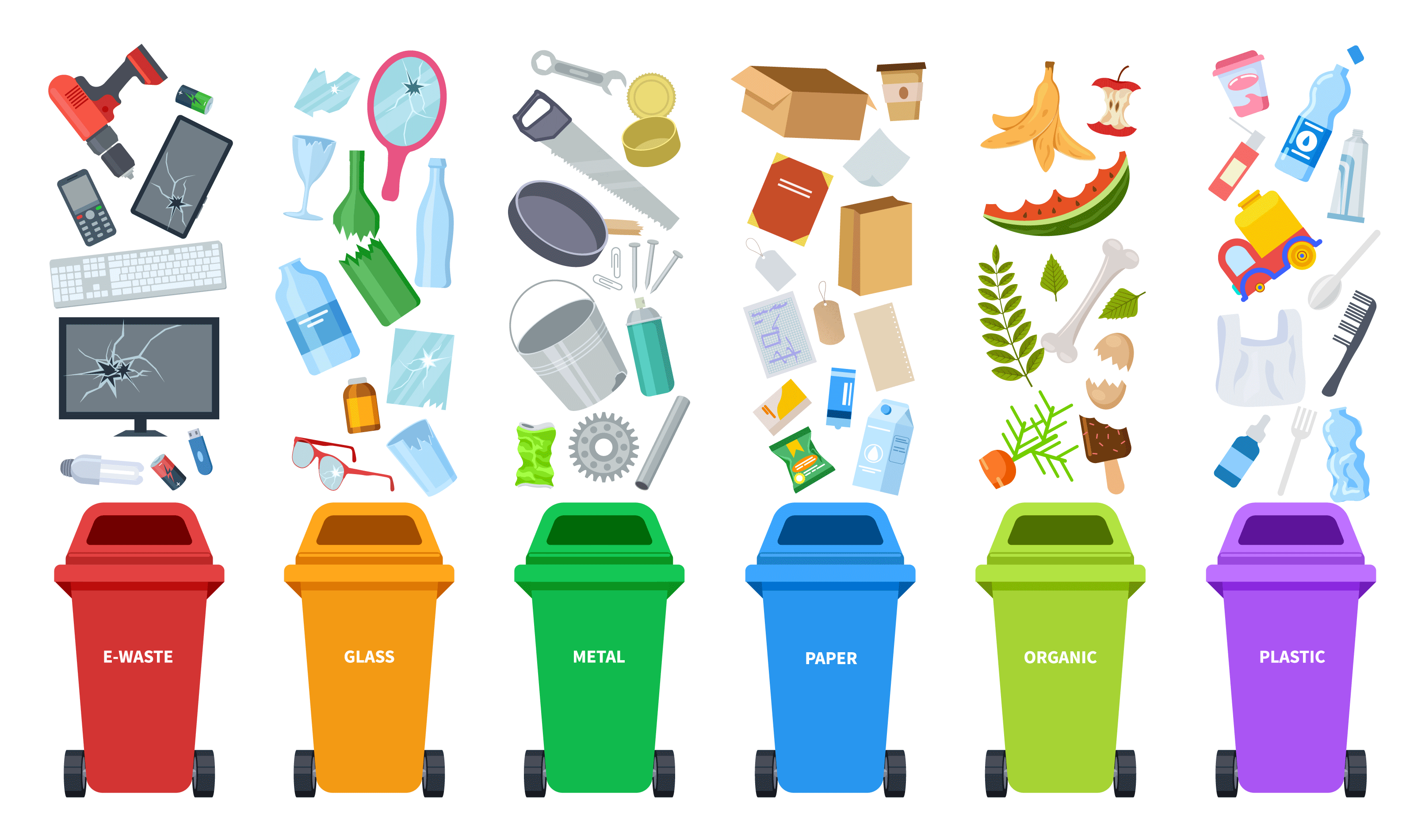 City of Jacksonville Announces Recycling Sites